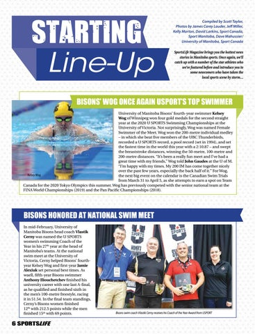Page 6 of The Starting Line-Up