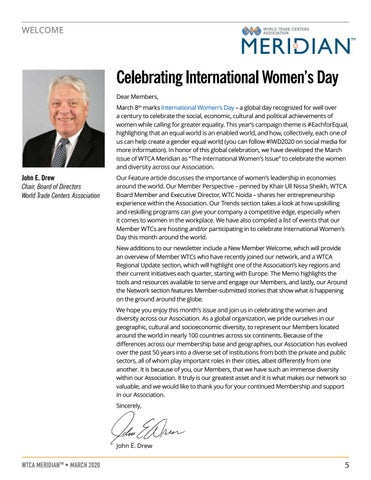 Page 5 of WELCOME: Celebrating International Women's Day