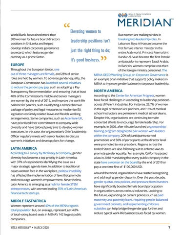 Page 7 of The Importance of Women's Leadership in Economies Around the World