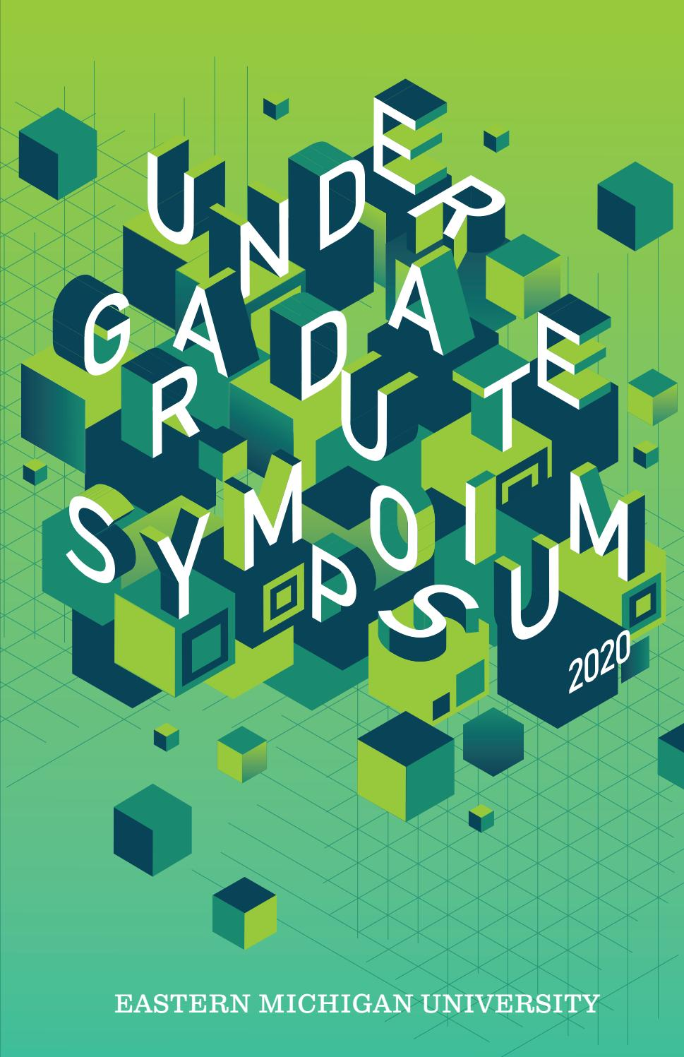 Emu Undergraduate Symposium 40 By Emu Graphic Design Issuu