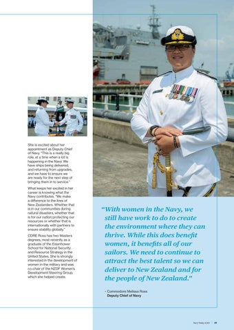 Page 21 of Commodore Melissa Ross