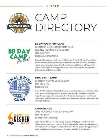 Page 24 of Camp Directory