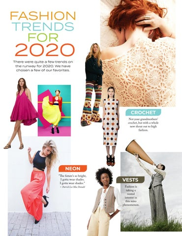 Page 36 of FASHION Fashion trends for 2020