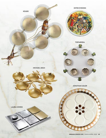 Page 45 of PASSOVER A seder plate for every table