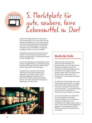 Page 38 of 5. Marktplatz des guten Geschmacks