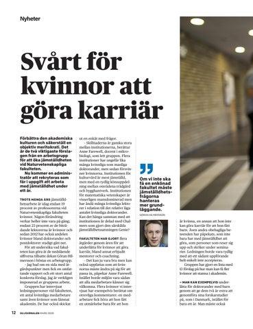 Page 12 of Krav på mer jämställd