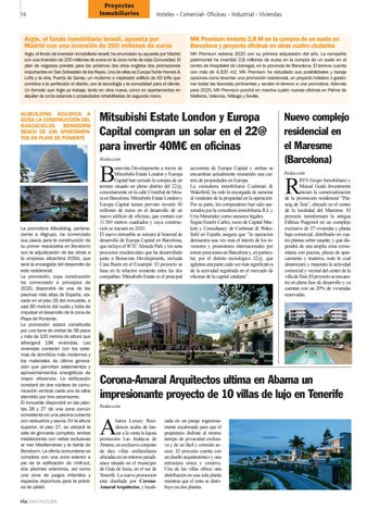 Page 16 of Mitsubishi Estate London y Europa