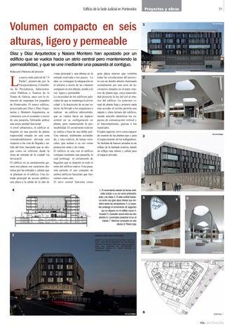 Page 31 of Edificio de la Sede Judicial en Pontevedra de