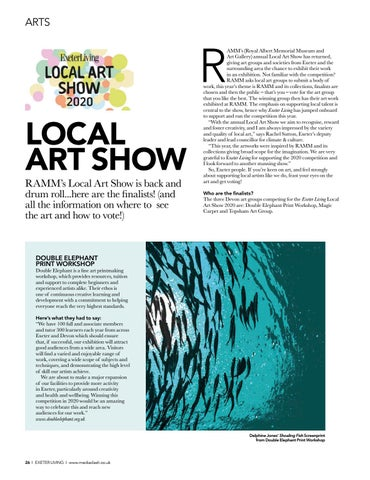 Page 26 of RAMM LOCAL ART SHOW Where to see the art