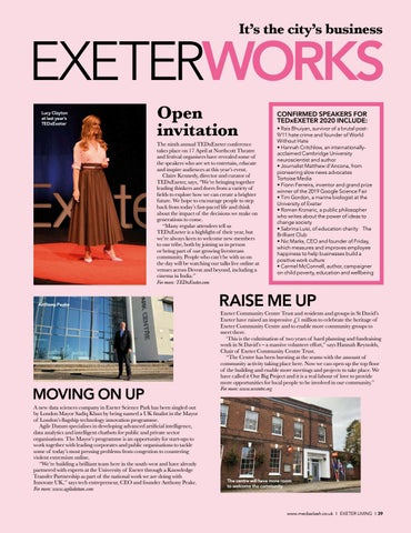 Page 39 of EXETERWORKS All the movers and shakers in the local business world