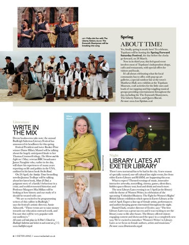 Page 6 of SPOTLIGHT Good news from in and around Exeter