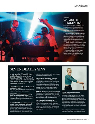Page 7 of SPOTLIGHT Good news from in and around Exeter