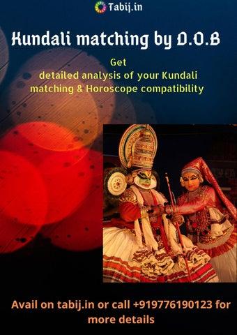 Your Astrology Thirumana Porutham