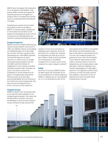 Page 47 of EMMTEC: Empowering your business