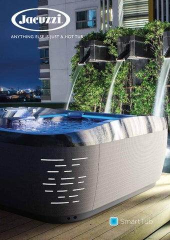 Jacuzzi Hot Tub Brochure 2020 By