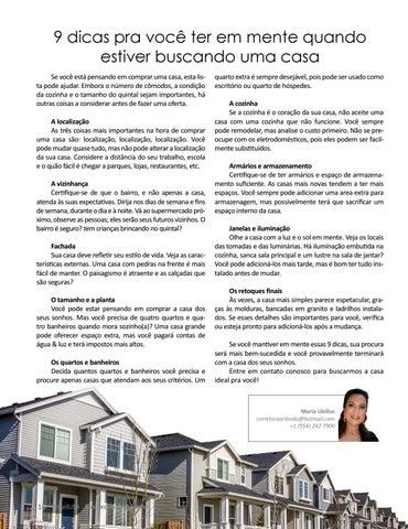 Page 16 of 9 DICAS PRA VOCÊ TER EM MENTE QUANDO ESTIVER BUSCANDO UMA CASA