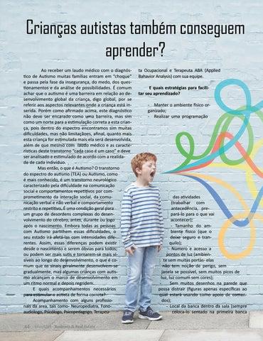 Page 44 of CRIANÇAS AUTISTAS TAMBÉM CONSEGUEM APRENDER?