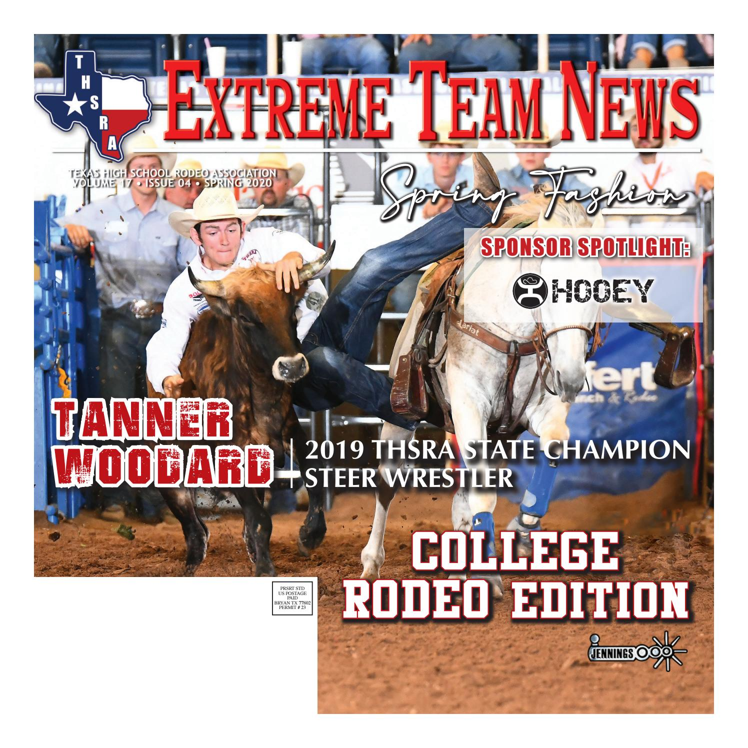 Wichita Falls TX Ranch Rodeo 2020 RODEO POSTER VINTAGE