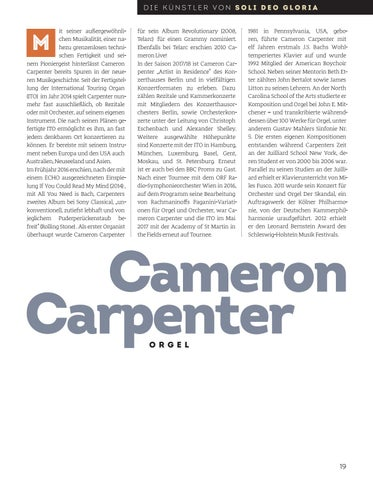 Page 19 of Cameron Carpenter