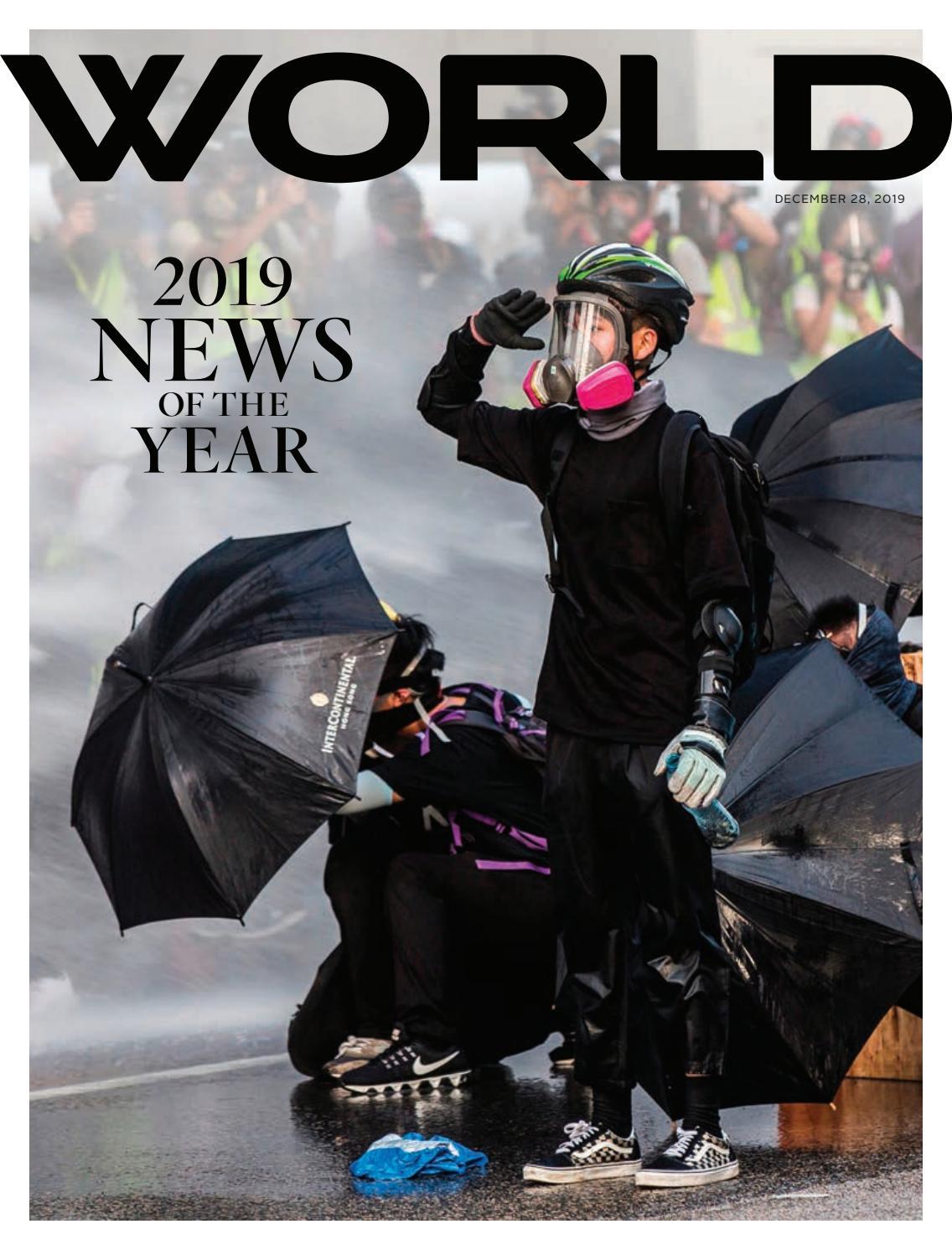 World Magazine December 28 2019 Vol 34 No 24 By God S World