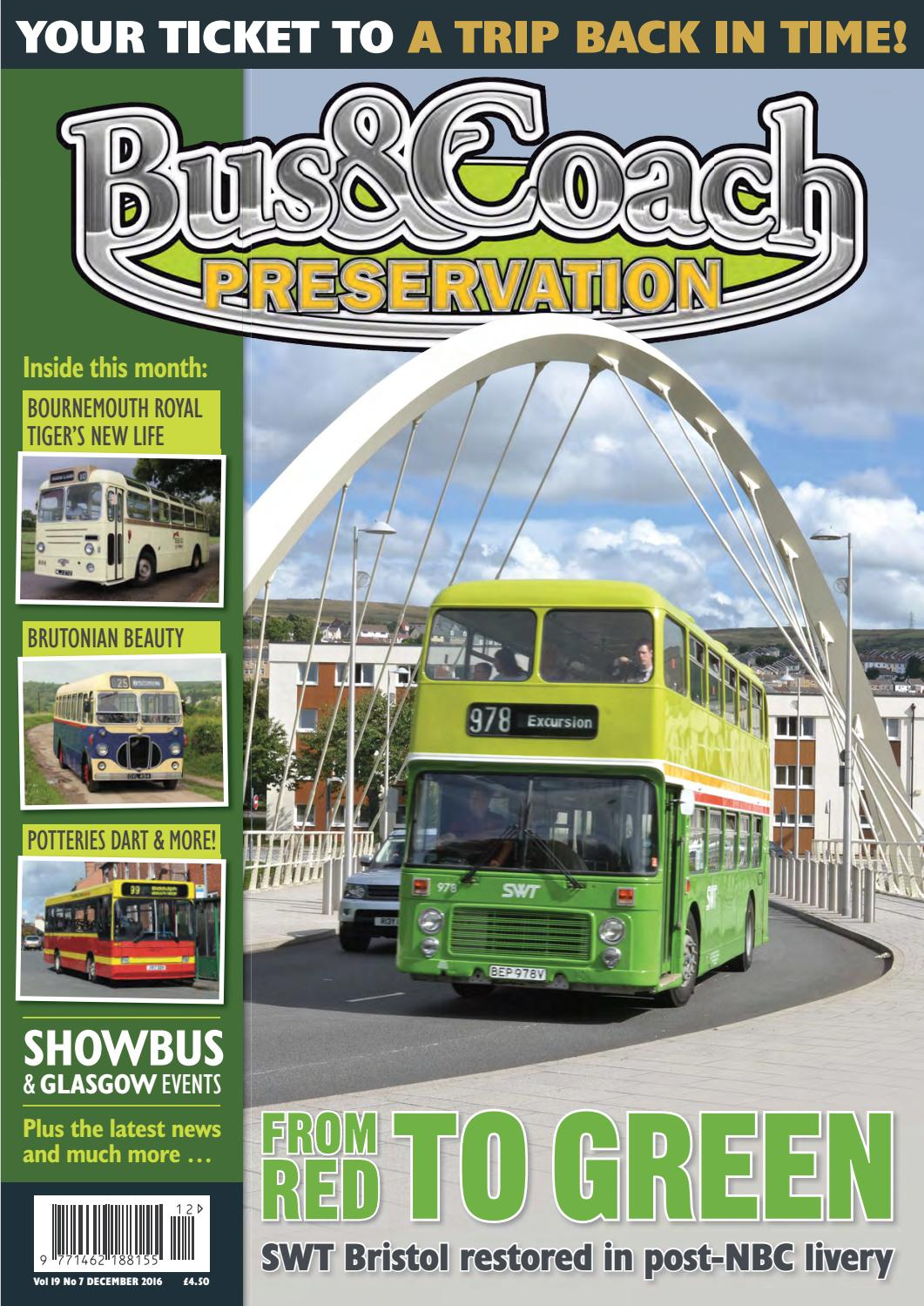 NEW PART 40B Leyland Royal Tiger Coach Transparent Green W//S CLEARANCE SALE!