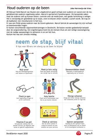 Page 11 of Joke Herrewijn–de Vries: Houd ouderen op de been Neem de stap, blijf vitaal