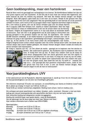 Page 13 of Ab Küchler: Geen boekbespreking, maar een hartenkreet Voorjaarskledingbeurs UVV