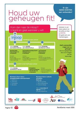 Page 14 of Joke Herrewijn de Vries: Boekbespreking Bezorgers voor de DordtSenior gevraagd