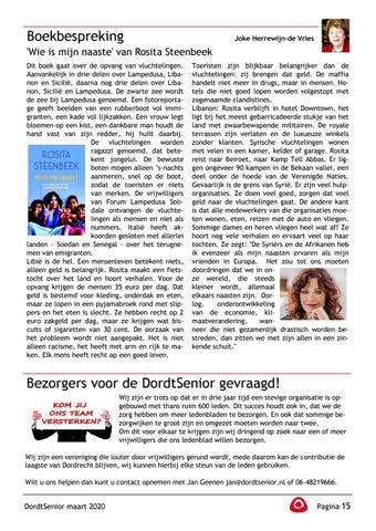 Page 17 of Arie van Zanten: Stap over de drempel, ga eens wandelen