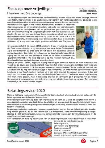 Page 9 of Henk Kroon: Focus op onze vrijwilliger