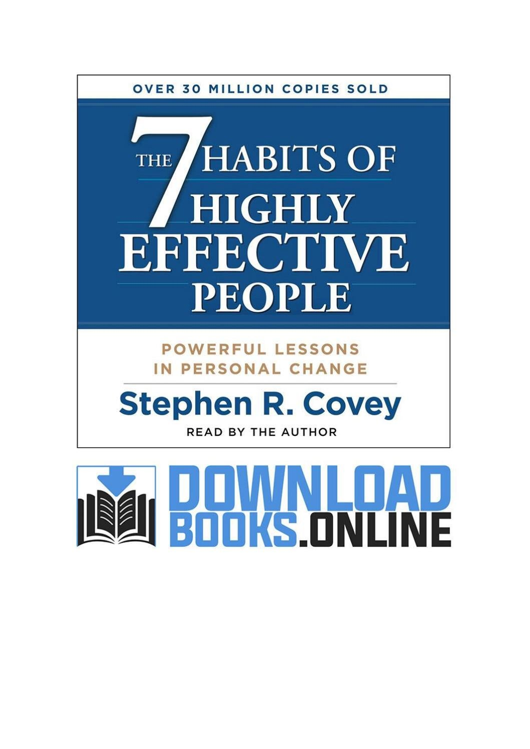 Success habits pdf free download