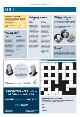 Page 17 of Tillfällavägen
