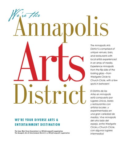 Page 82 of CALENDAR The I.W.S.A.(Inner West Street Association) & the Annapolis Arts District Calendar
