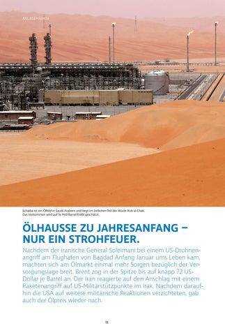 Page 18 of Ölhausse zu Jahresanfang – nur ein Strohfeuer