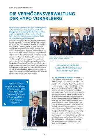 Page 24 of Die Vermögensverwaltung  der Hypo Vorarlberg