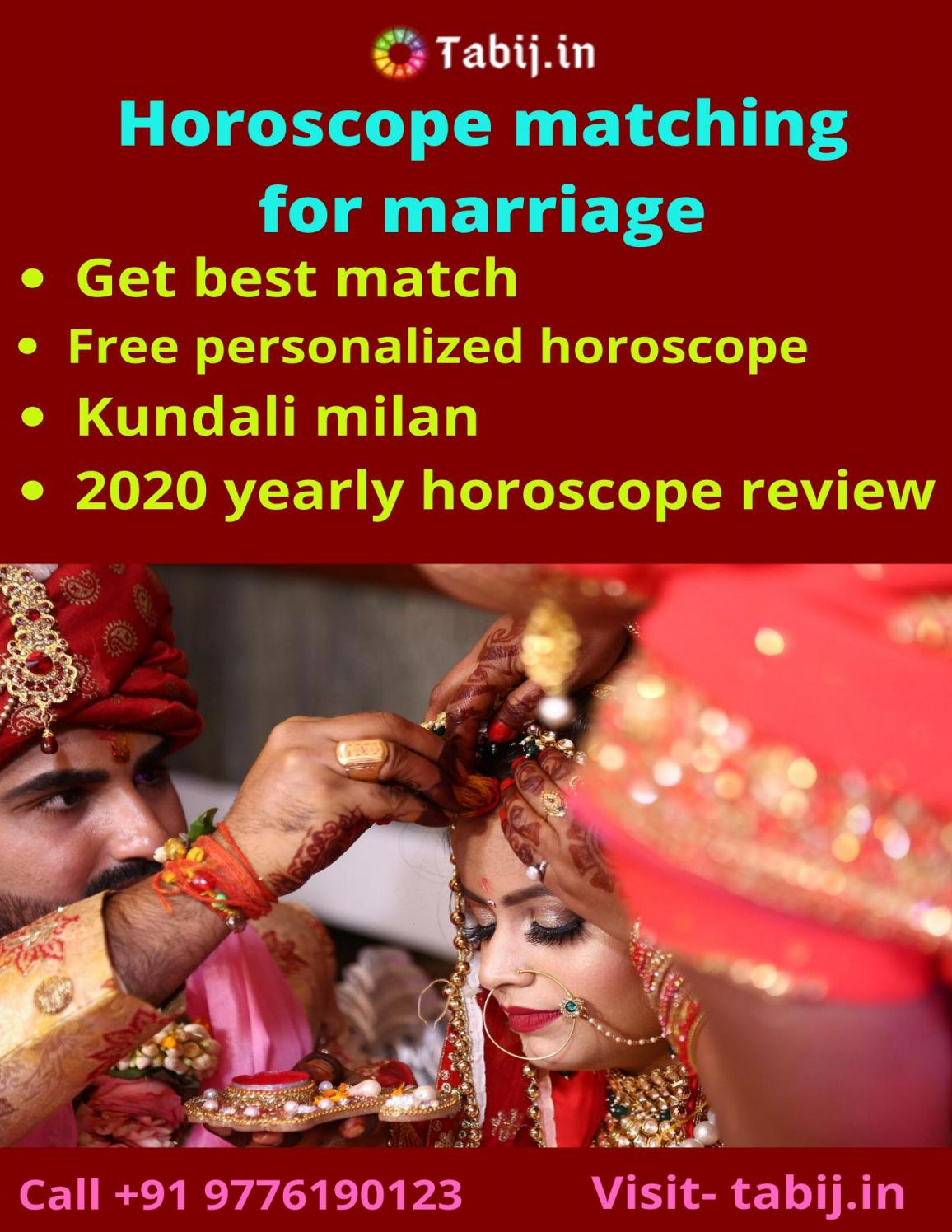 Know Your Marriage Date Horoscope