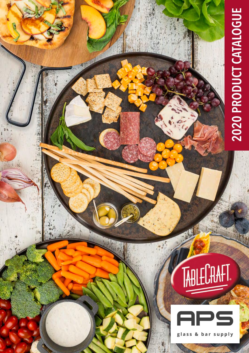 Tablecraft Catalogue 2020 By Aps Glass Bar Supply Issuu