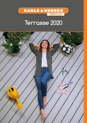 Karle und Rubner Terrastart f/ür Holz 20 St/ück UK
