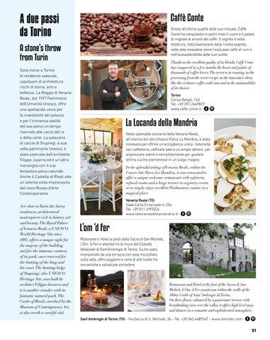 Page 23 of la Mole Antonelliana A due passi da Torino