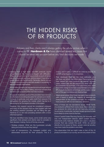 Page 18 of THE HIDDEN RISKS OF BR PRODUCTS