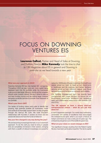 Page 37 of FOCUS ON DOWNING VENTURES EIS
