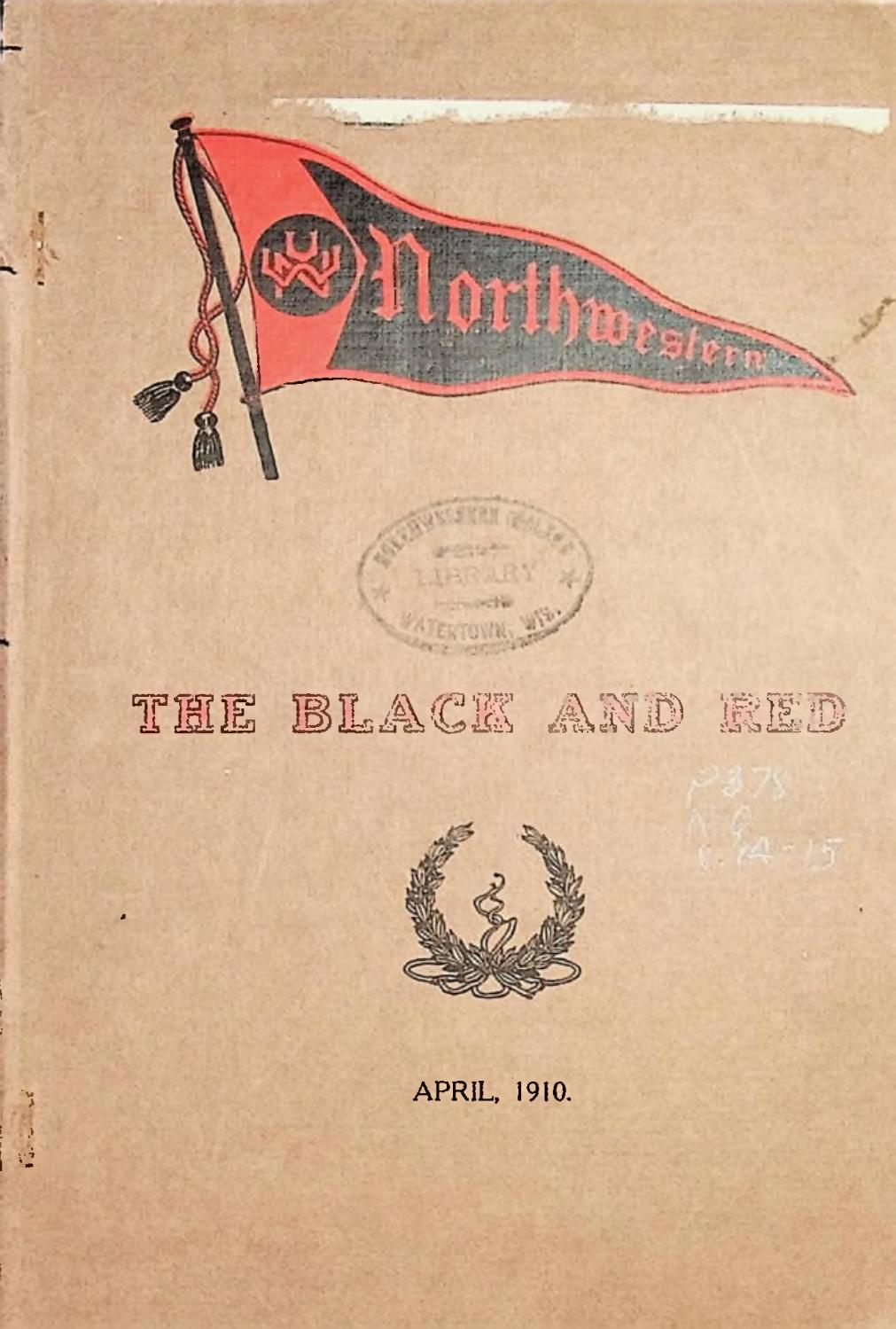 1910 1911 Nwu The Black And Red Vol 14 By Martin Luther College Issuu