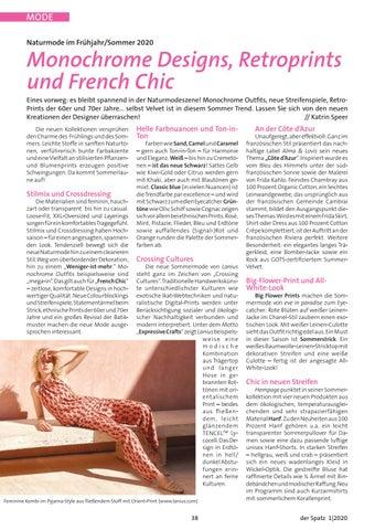 Page 38 of Naturmode im Frühjahr/Sommer 2020