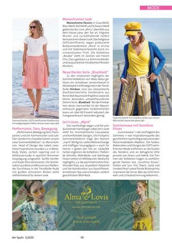 Page 39 of Naturmode im Frühjahr/Sommer 2020
