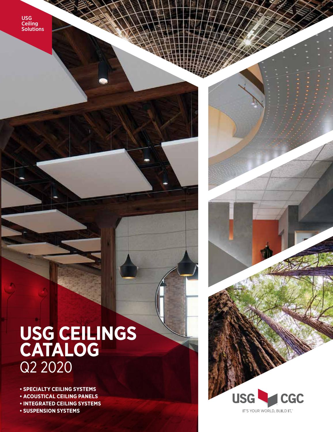 Usg Ceilings Systems Look Book By Usg1