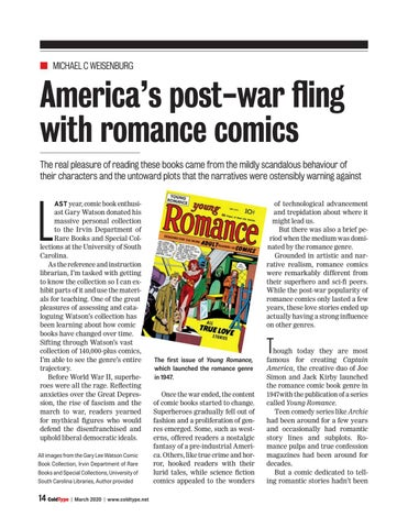 Page 14 of America's post-war fling with romance comics