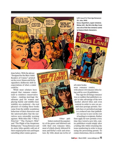 Page 15 of America's post-war fling with romance comics