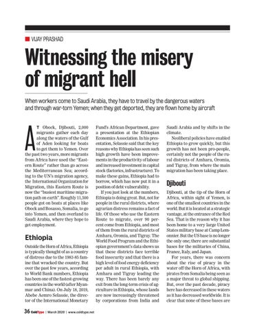 Page 36 of Witnessing the misery of migrant hell Vi ay Prashad
