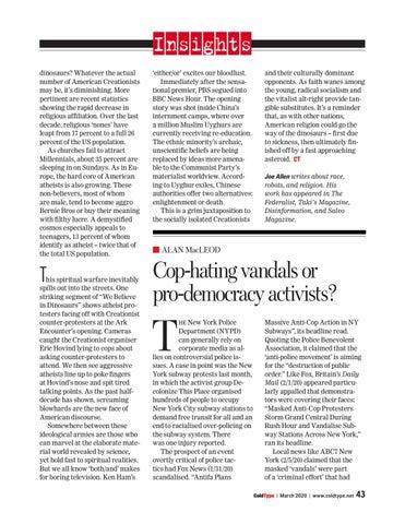 Page 43 of Cop-hating vandals or pro-democracy activists