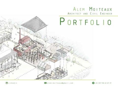 Alem Moiteaux Portfolio 2020 Architect And Civil Engineer English By Alem Moiteaux Issuu